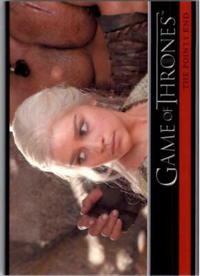 2012 Game of Thrones Season One #24 The Pointy End