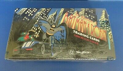 1995 SKYBOX tHE ADVENTURES OF BATMAN SEALED TRADING CARD BOX of 36 PACKS