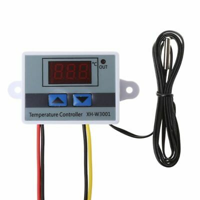 LED Digital 220V Temperature Controller 10A Thermostat Control Switch Probe New