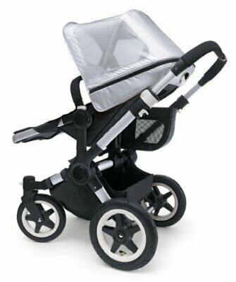 Bugaboo Donkey Breeze Sun Canopy Baby Infant Pushchair Stroller Accessory Silver