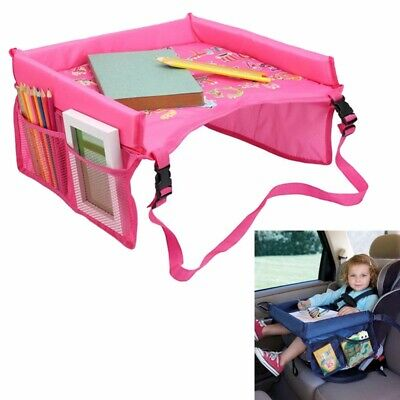 Snack Baby Car Seat Table Kids Play Travel Tray Safety Waterproof Drawing Board