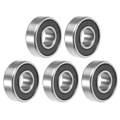 698-2RS Ball Bearing 8x19x6mm Double Sealed ABEC-3 Bearings 5pcs