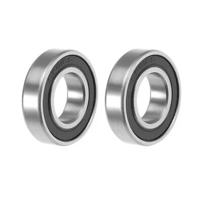 6901-2RS Ball Bearing 12x24x6mm Double Sealed ABEC-3 Bearings 2pcs