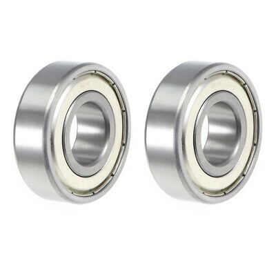 6203ZZ Ball Bearing 17x40x12mm Double Shielded ABEC-3 Bearings 2pcs
