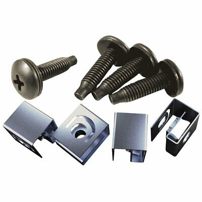 Hammond 10-32 Mounting Screw & Clip Nut Pack of 100