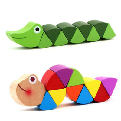 Educational Wooden Toys for Children Baby Exercise Baby Fingers Flexible