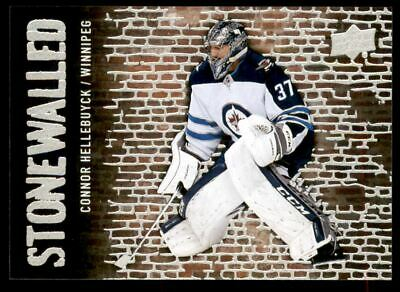 2018-19 Upper Deck Stonewalled #SW35 Connor Hellebuyck