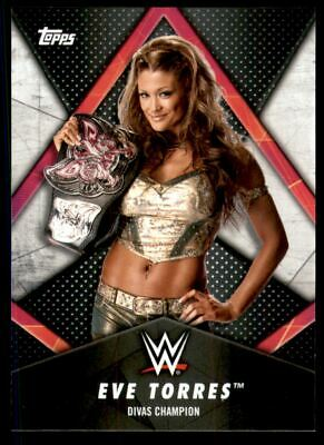 2018 Topps WWE Women's Division Women's Champion #WC3 Eve Torres