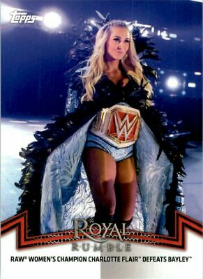 2018 Topps WWE Women's Division Matches and Moments #31 Raw Women's Champion
