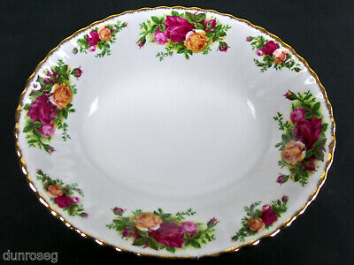 Old Country Roses Large Oval Serving Bowl, Gc, 1993-2002. England. Royal Albert