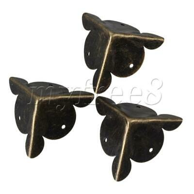 Bronze Iron Vintage Style Corner Protector Decor 30mm Height Pack of 5