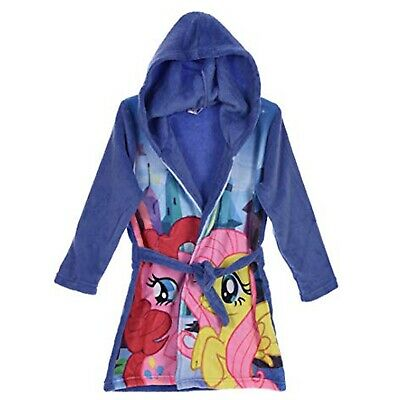 Fleece Dressing Gown 2-3 Years My Little Pony Night Lounge Wear Purple