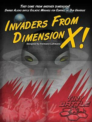 Tiny Battle Wargame Invaders From Dimension X! Zip MINT