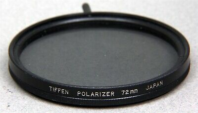 72mm Screw-In Filter TIFFEN LINEAR POLARIZER - Made in JAPAN