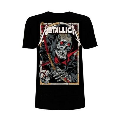 METALLICA T-Shirt Death Reaper All Sizes NEW OFFICIAL Logo Master Of Puppets