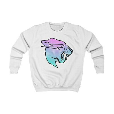 MR BEAST Galaxy Logo Sweatshirt KIDS Merch 3-12 Years Birthday Gift