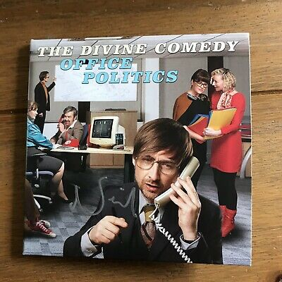 Divine Comedy - Office Politics Cd Signed Autographed
