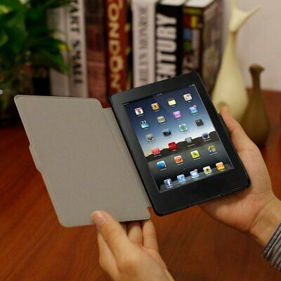 Lightweight Ultra-Slim PU Leather Flip Tablet Cover Case for Amazon Kindle 8 BU