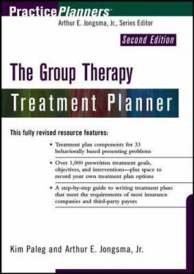The Group Therapy Treatment Planner (PracticePlanners?), Kim Paleg, Arthur E. Jo