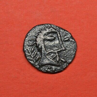Rare Iceni Silver Unit: Face / Horse: Norfolk God Type, 50-10 Bc. V.f+