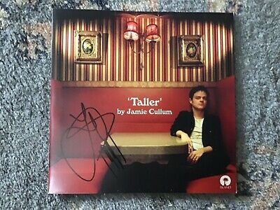 Jamie Cullum Taller Cd Brand New And Signed