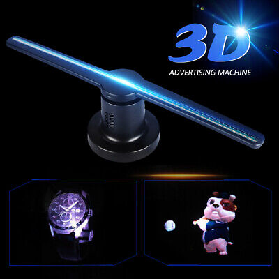 LED 3D HOLOGRAPHIC Projector Display Advertising WIFI 16GB Hologram