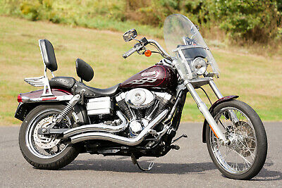 2006 Harley-Davidson Dyna  2006 Harley-Davidson Dyna Wide Glide FXDWGI FXDWG Ton's of Extras Only 18,353mi!