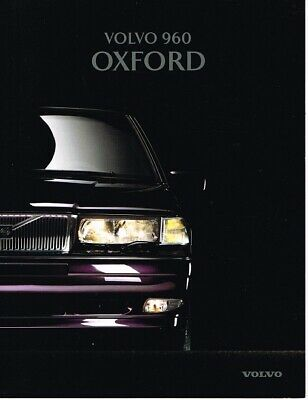 1996 Volvo 960 Oxford (NL, 8pg.) Brochure