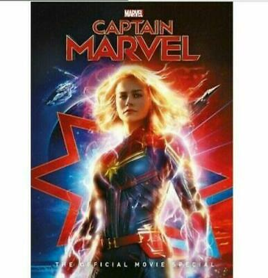 Captain Marvel The Movie DVD New Sealed Free Shipping