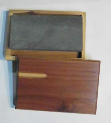 "Black Arkansas, Sharpening Stone 4"" x 2 "" x 1/2"""