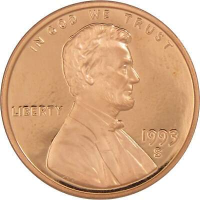 1993-S 1c Lincoln Cent Penny Choice Proof