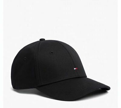 unisex Tommy Hilfiger Baseball Cap Black  Classic.free postage.on supper sale .