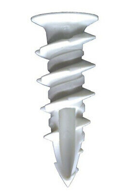 """Simpson Strong-Tie SWN08L-R100 Sure-Wall Nylon Drywall Anchor #8 x 1-1/4"""", 100ct"""