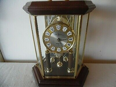 Mid Century Howard Miller Westminster Chime 4/4 Anniversary Clock Germany