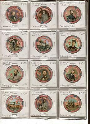 Estate Casino Chip Lot | Page of $60 Face Value | Unsearched | Casino (RC16377)