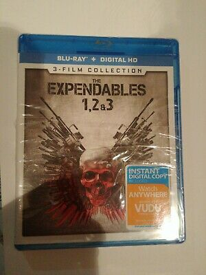 The Expendables 1, 2 & 3 (Blu-ray + Digital HD) 3-Film Collection. In wrapping