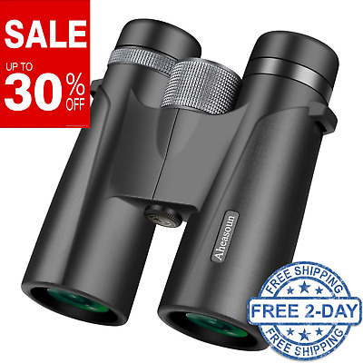 Binoculars for Adults 12X42 Professional HD Roof Prism for Bird Watching Hunting