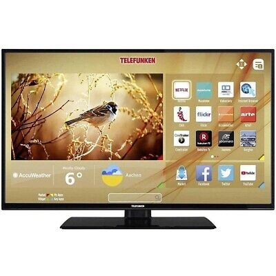 "Telefunken TE32269B40Q2D TV Led 32"" HD Ready DVB-T2/S2/C USB Smart TV Wi-Fi"