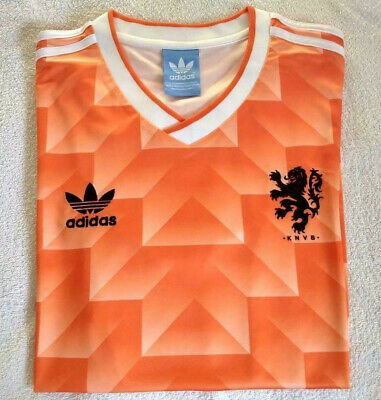 brand new fb93d f3138 1988 NETHERLANDS HOME Retro Football Soccer Shirt Jersey Vintage Classic  Holland