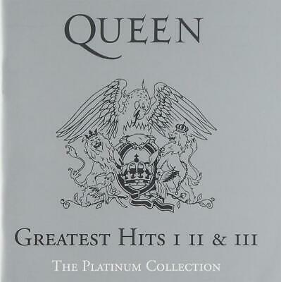 Queen - Greatest Hits I, II & III - The Platinum Collection (3 Cd)