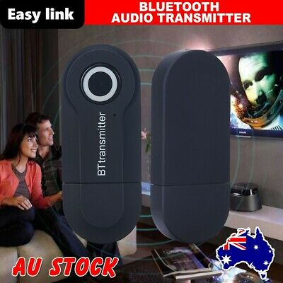 Bluetooth 4.2 Audio Sender Transmitter A2DP Stereo Dongle Adapter for TV PC DVD