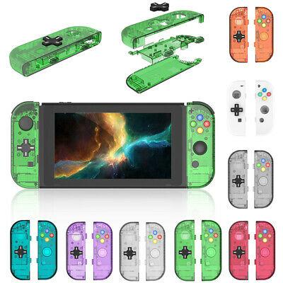 Right/Left Handle Back Cover Replacement Shell Case For Switch JoyCon Controller