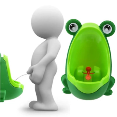 Lovely Frog Children Kids Potty Removable Toilet Training Kids Urinal Early Lear