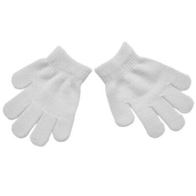 440c4f68d Stretchy Gloves Kids Mittens Magic Solid Autumn Winter Casual Warm Knitted