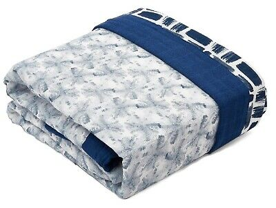 Aden & Anais Oversized Silky Soft Muslin Baby Blanket Seaport-Fans NEW