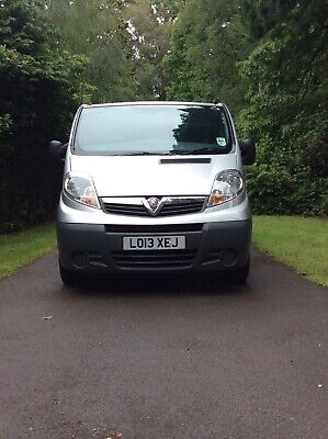 Vauxhall Vivaro 2013 Swb 2:0 Cdti 115 Bhp With Air Con