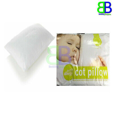 Anti-Allergy Cot Bed Pillow Filling Nursery Kids Baby Junior Toddler 40 x 60cm