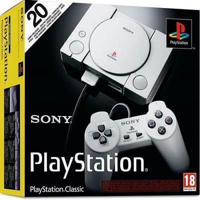 Sony PlayStation Classic Console Brand New In Stock Ready to Ship UK Model