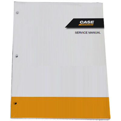 CUSTODIA CX490D,CX500D Tier 4B Excavator Service Shop Repair Manual # 47937809