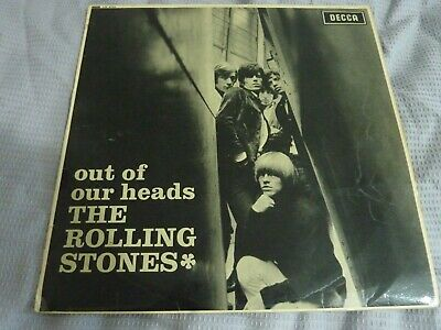 THE ROLLING STONES - Out Of Our Heads - UK Mono LP Early Press 8B/11A - Good